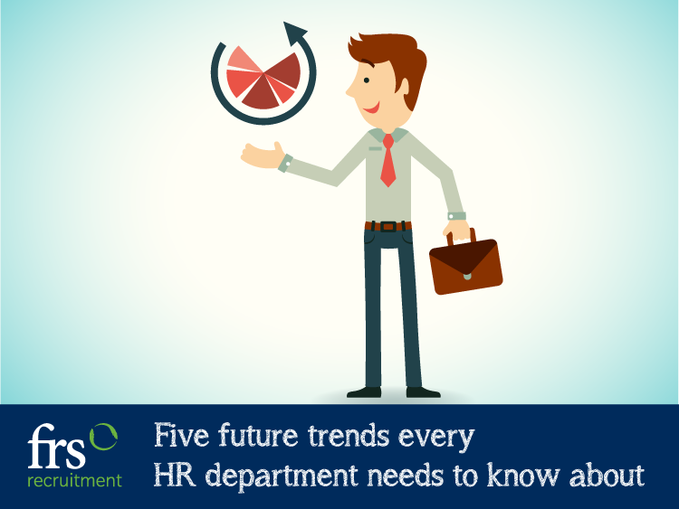 Five future trends every HR department needs to know about