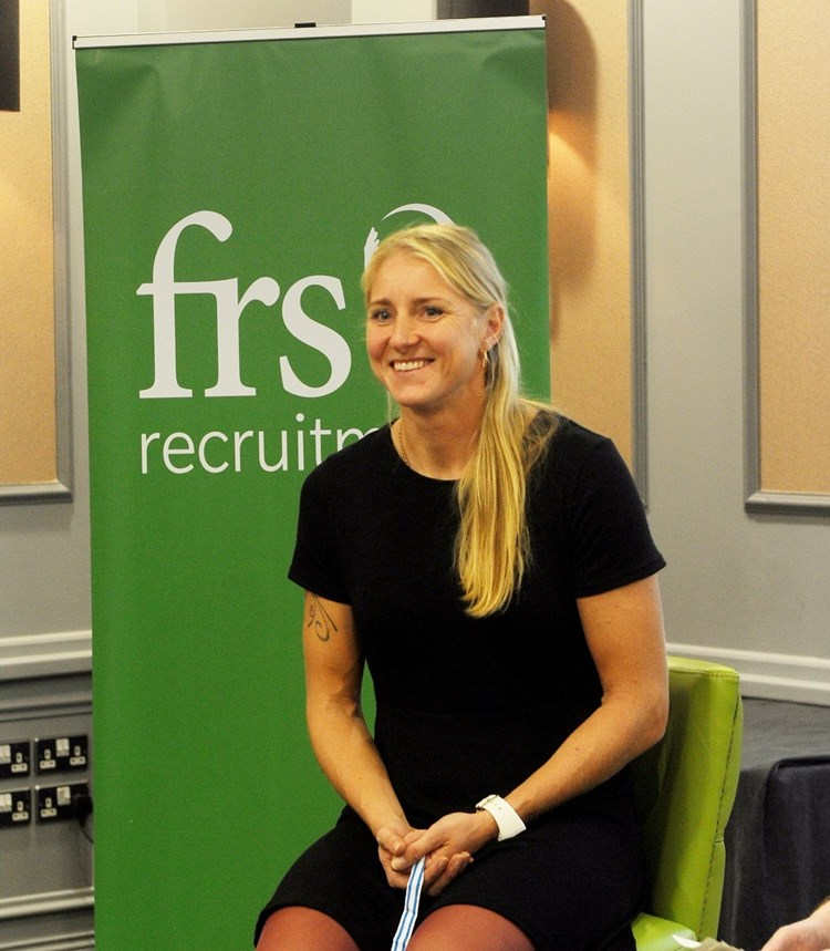 Sanita Puspure talks to FRS about her journey to Gold